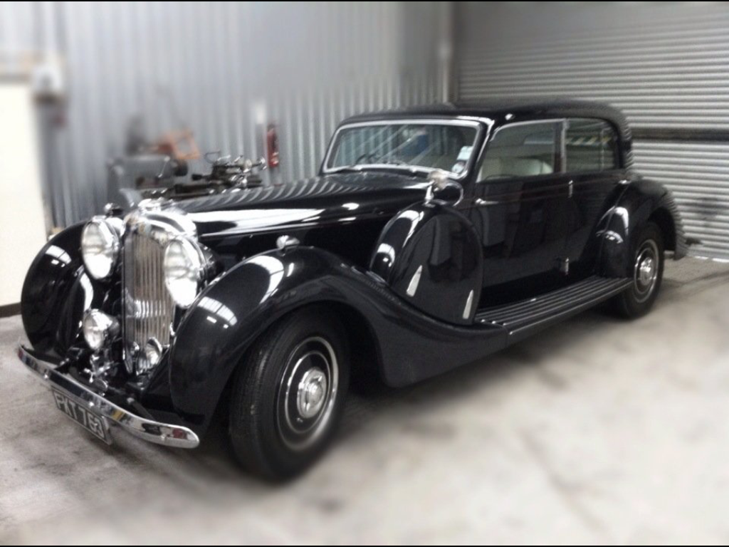 Black Lagonda V12 Saloon